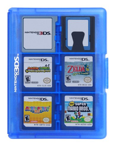 Game Card Case 24 Clear Amazon Co Uk Pc Video Games