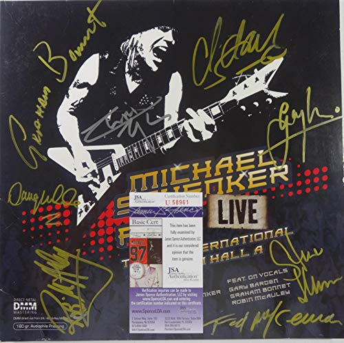 Signed Michael Schenker Fest Autographed Live in Tokyo Double 12