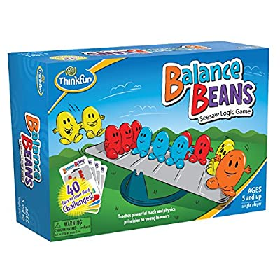 ThinkFun Balance Beans Math Game For Boys and Girls Age 5 and Up - A Fun, Award Winning Pre-Algebra Game for Young Learners: Toys & Games