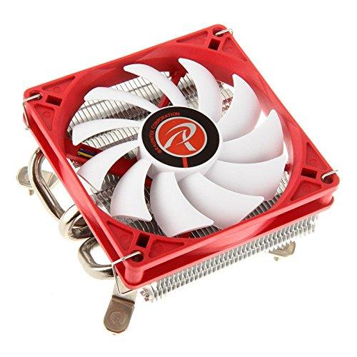 RAIJINTEK Zelos Processor Cooler - Computer Cooling Components (Processor, Cooler, Socket AM2, Socket AM2+, Socket AM3, Socket AM3+, Socket FM1, Socket FM2, Socket FM2+, 9 cm, 800 RPM, 1400 RPM)