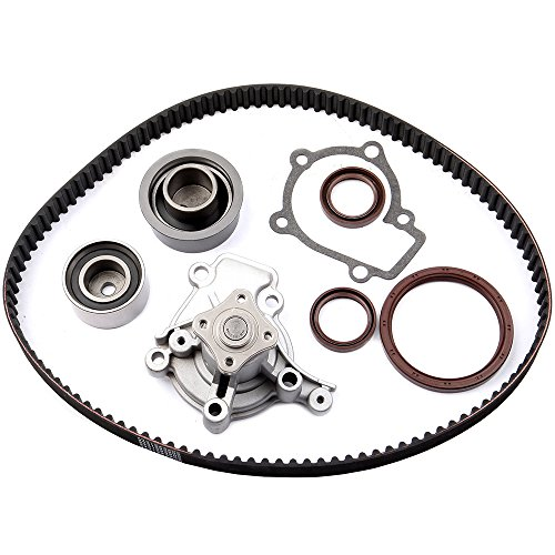 ECCPP Engine Timing Belt Kit Water Pump Kit Fits Hyundai Kia 2.0L G4GF Kia Spectra Hyundai Elantra
