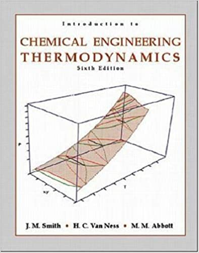 Introduction To Chemical Engineering Thermodynamics By Jm Smith Pdf