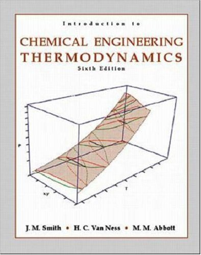 Introduction to chemical engineering thermodynamics solution manual buy introduction to chemical engineering thermodynamics chemical engineering series book online at low prices in india fandeluxe Choice Image