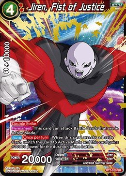 Amazon.com: Dragon Ball Super TCG - Jiren, Fist of Justice ...