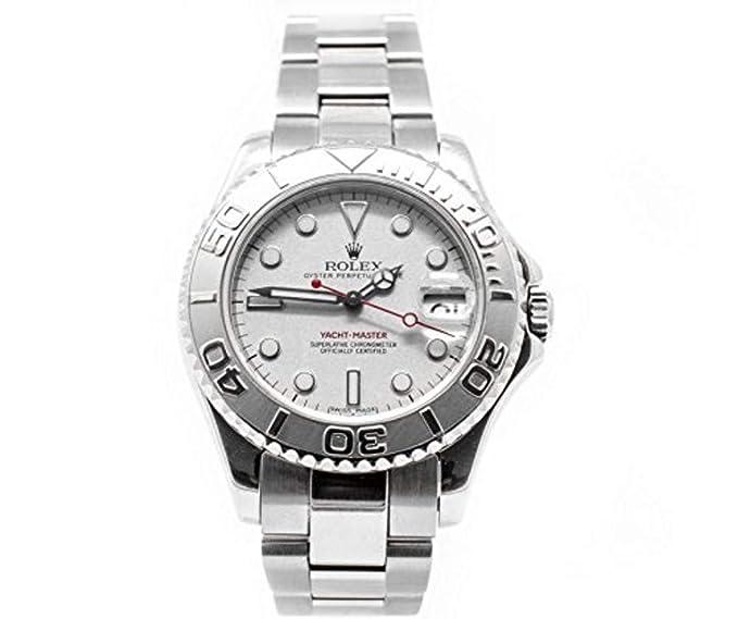 Rolex Yacht-Master Oyster Perpetual Fecha automatic-self-wind Mens Reloj 168622 (Certificado) de segunda mano: Rolex Yacht-Master: Amazon.es: Relojes