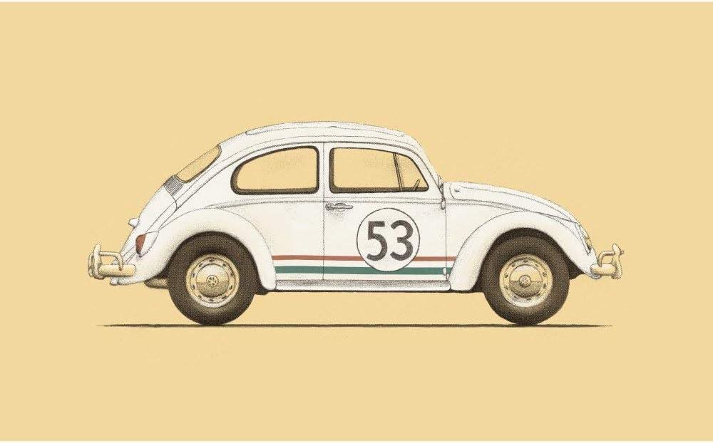 Herbie The love Bug Retro vintage style metal tin sign gift Home Decor garage