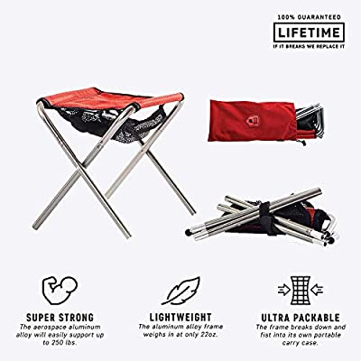 Grand Trunk Micro Camp Stool : Camping Stools : Sports & Outdoors