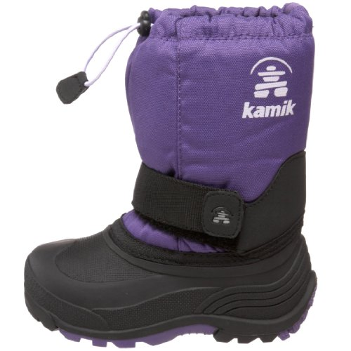 Kamik Rocket Cold Weather Boot (Toddler/Little Kid/Big Kid),Deep Purple,9 M US Toddler by Kamik (Image #5)