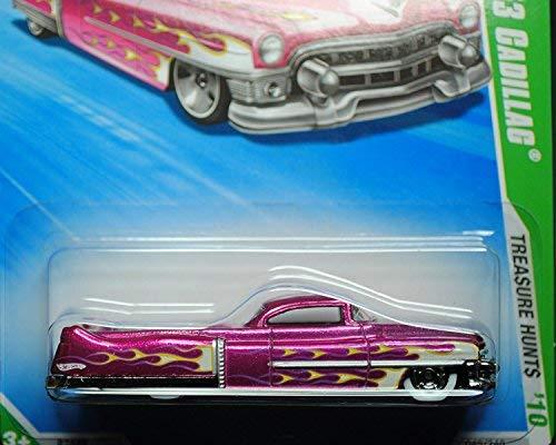Hot Wheels 2010-045 Custom '53 Cadillac Trea$ure Hunt$ (Super Treasure Hunt) T-Hunts 1:64 -