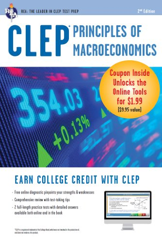 CLEP Principles of Macroeconomics with Online Practice Exams (CLEP Test Preparation)