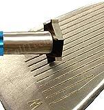 Groove Pro-X6TM Wedge & Iron Golf Club Regrooving Tool, Sharpener & Cleaner, Detailed
