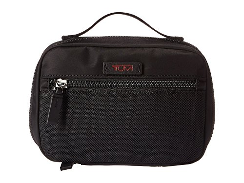 (TUMI - Luggage Accessories Pouch - Travel Toiletry Bag for Men and Women - Small - Black)