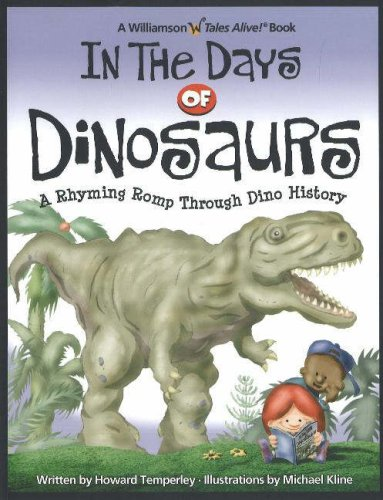 Download In the Days of Dinosaurs: A Rhyming Romp Through Dino History pdf