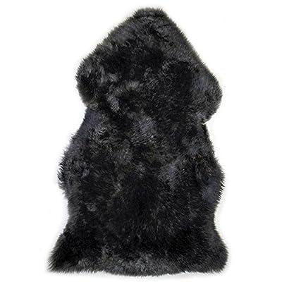 Genuine Australian Sheepskin Rug One Pelt Fur, Single, Approx. 2ft. x 3ft.