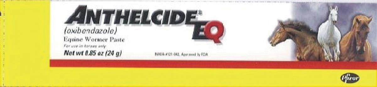 PFIZER EQUINE 450006 Anthelcide EQ Equine Wormer Paste, 0.85 oz Prime Pet Deals - Code 1 10010462/6045