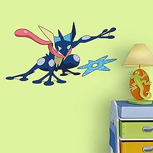 Elegant Fathead Peel And Stick Decals Pokemon Greninja Junior Wall Decal
