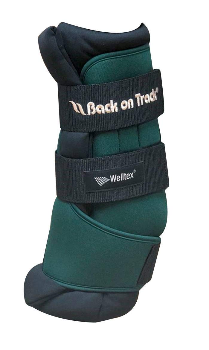 Back on Track Horse Royal Quick Wraps Hunter Green (12'')