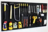 WallPeg 24'' x 48'' Garage Pegboard Kit with Pegboard Accessories AM 24242BK