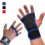 Workout Gloves Wrist Best Workout Gloves for Weight Lifting, Crossfit, Gym Workouts Royal Blue Large offers