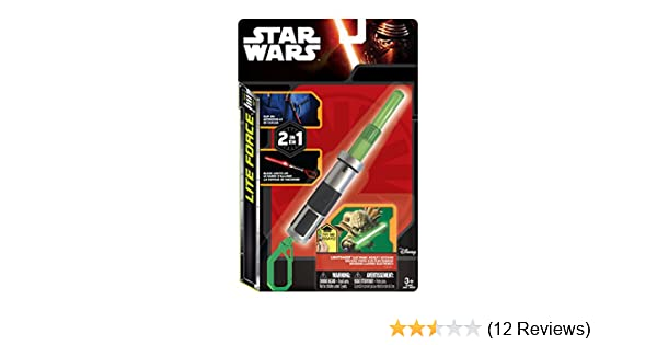 Tech4Kids Star Wars Action Lite Yoda Toy, Green