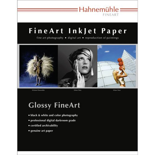 Hahnemuhle 17 x 22'' Photo Rag Pearl Fine Art Paper (25 Sheets) by Hahnemuhle