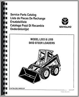 New Holland Lawn and Garden Tractor Parts Manual (NH-P-R5 R8
