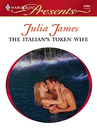 book cover of The Italian\'s Token Wife