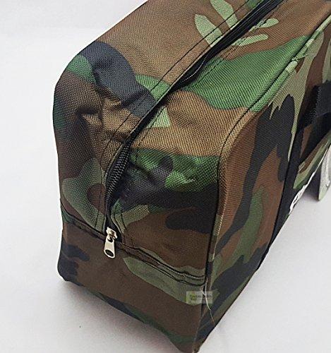 Bakaji Paar Kühltasche Militärische Tarnung 2Stück Taschen-14+ 3Liter groß und klein ideal für Meer Strand Camping (Combo Set) Camping