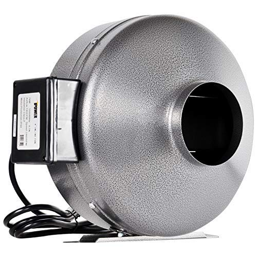 iPower Inline Duct Ventilation Fan HVAC Exhaust Blower for Grow Tent