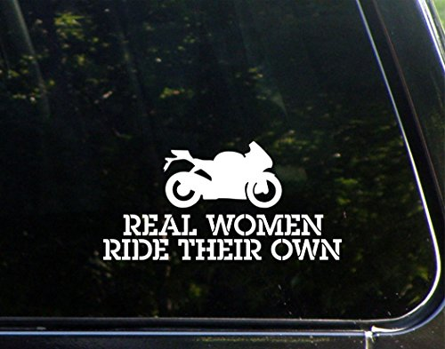 Real Women Ride Their Own - 7 1/2