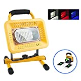 50W Ultra Bright LED Rechargeable Work Lights,Bootaa Emergency Flood Lights with 3 Modes and SOS Flash Light,USB Ports for Mobile Device Charge,Daily Waterproof,Excellent for Camping,Repairing,Mining