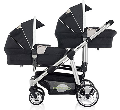 Amazon.com : Brevi Travel System Ovo Twin Night Blue : Baby