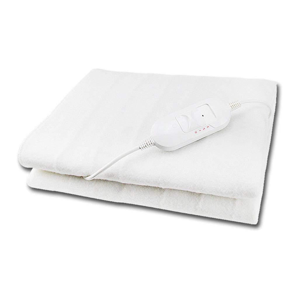 Electric Blanket Heated Washable Fleece Under Luxury King Size Bed