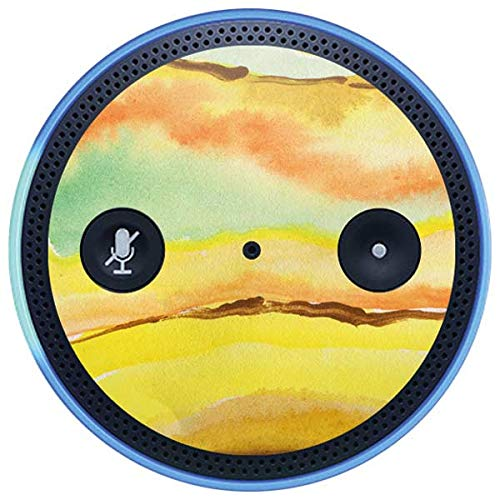 Skinit Geode Amazon Echo Plus Skin - Tuscan Sun Watercolor Geode Design - Ultra Thin, Lightweight Vinyl Decal Protection