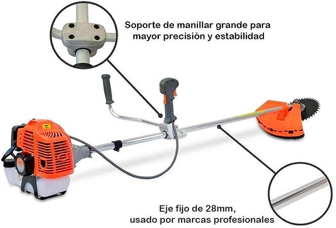 Spark - Desbrozadora De Gasolina 52cc, Multifuncional 3 En 1, 2.21 ...