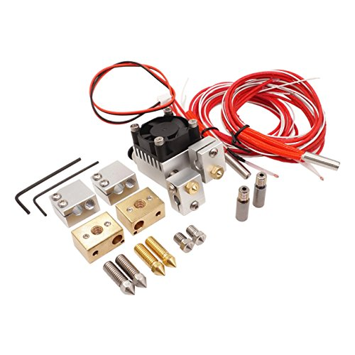 Winsinn Chimera Hotend Extruder Full Kit   High Speed Volcano Upgrade   Sensor Copper Heater Block 0 4Mm Copper   Stainless Steel Nozzle For Pt100 1 75Mm Filament