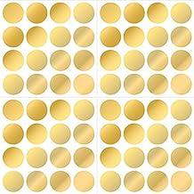 WallPops WPD1642 Gold Confetti Dot Decals, Metallic