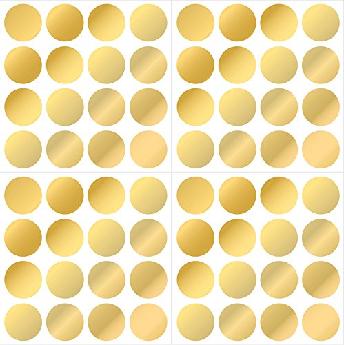 Wall Pops WPD1642 Gold Confetti Dot (Gold Confetti Dots)
