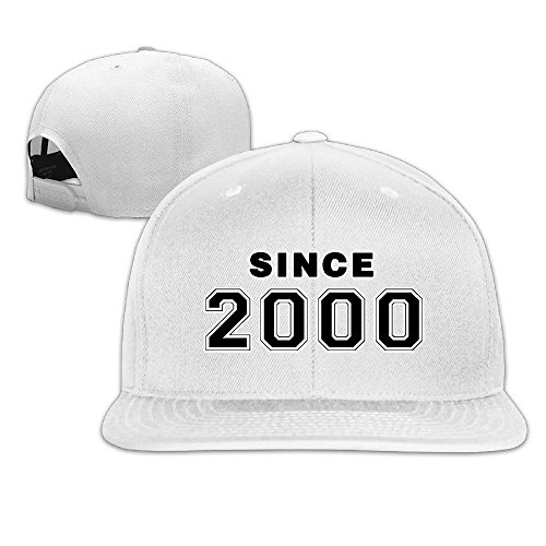 Since 2000 16th Birthday Gift Fitted Flat Bill Baseball Caps -
