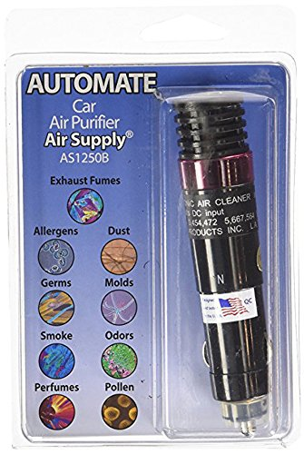 Auto-Mate On-the-Road Plug-In Ionic Air Purifier