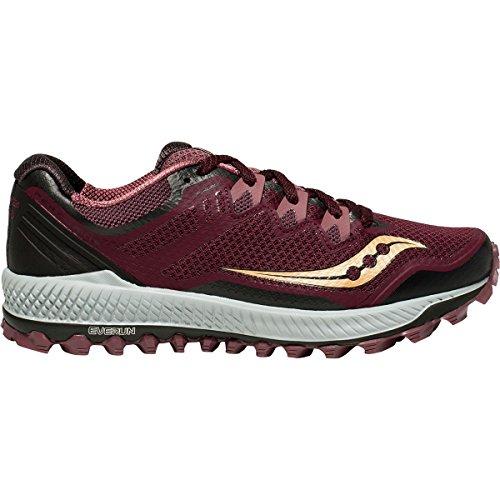 真実にパーセント敬な[サッカニー] レディース ランニング Peregrine 8 Trail Running Shoe [並行輸入品]