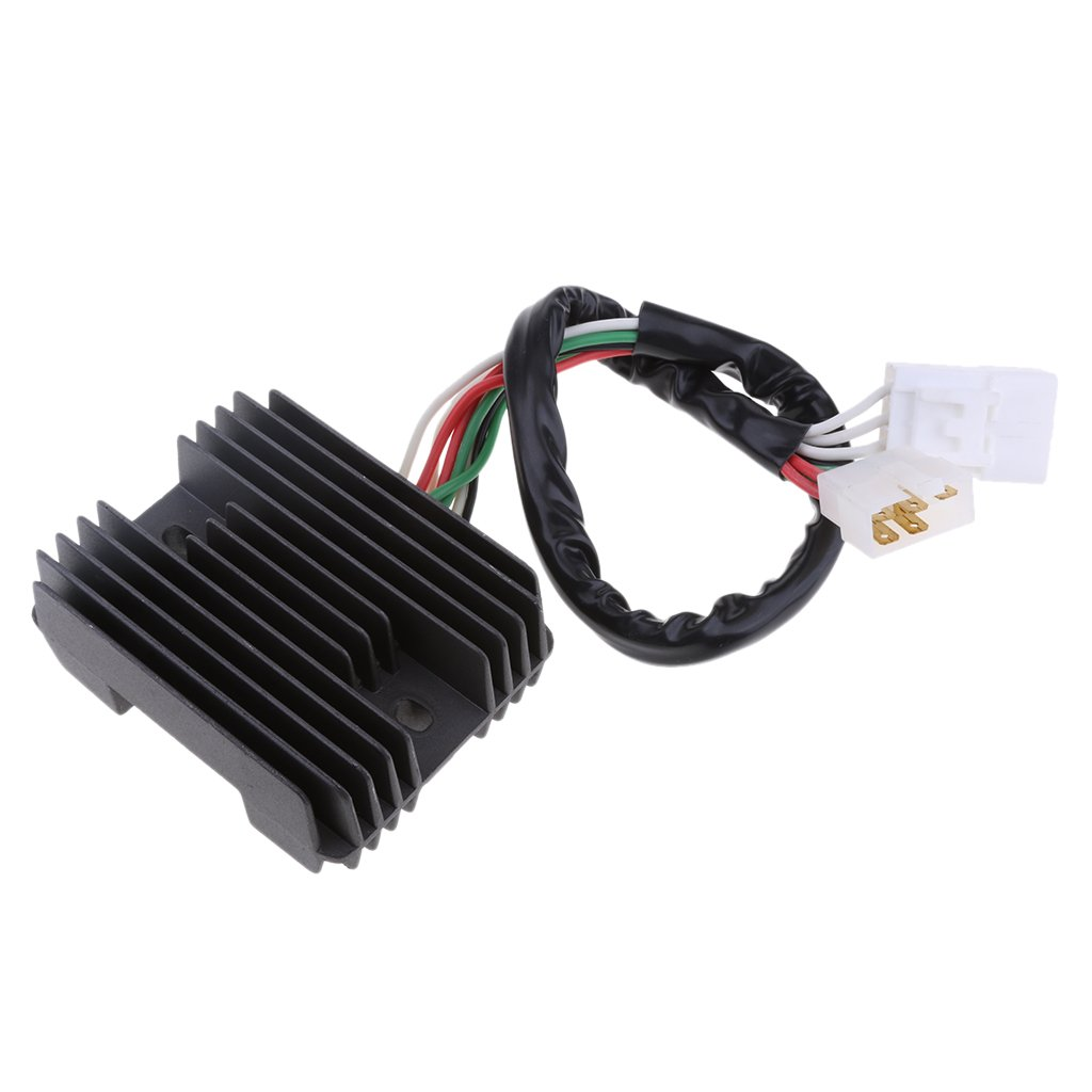 MagiDeal Black Motorcycle Voltage Regulator Rectifier 12V for Honda CBR1100 1999-2002 by Unknown (Image #1)