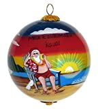 Collectible Hawaiian Mele Kalikimaka Christmas Ornament