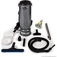 GV 10 Quart Commercial BackPack Vacuum Most Powerful with 2 year warranty Restaurant Industrial