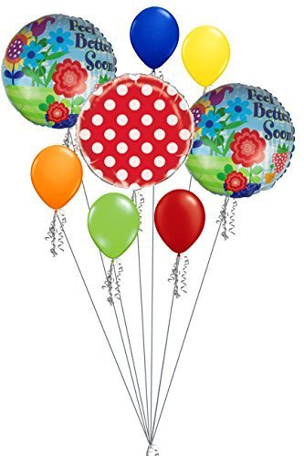 Well Soon Balloon Bouquet - 6