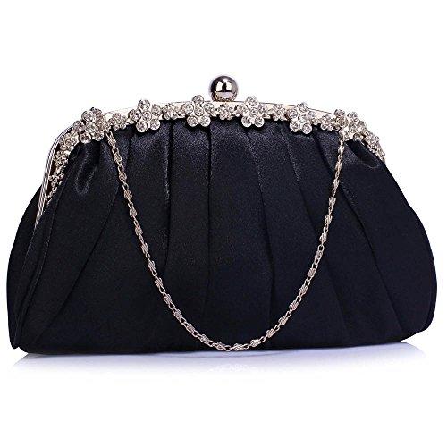 TrendStar Frauen Kupplungs Taschen Damen Kristall Abend Abschlussball Partei Hochzeit Taschen