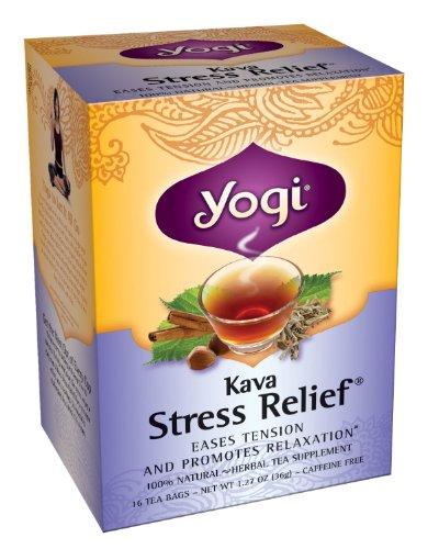 Yogi Kava Stress Relief, Herbal