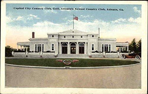 Atlanta Country Club (Capitol City Country Club Atlanta, Georgia Original Vintage Postcard)
