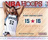 2015/16 Panini Hoops Official NBA Basketball Cards Hobby Box - 24 packs of 12 cards each!!