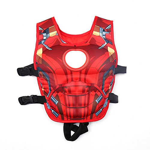 Kids Super Hero Swimming Aid Life Jacket Learn To Swim
